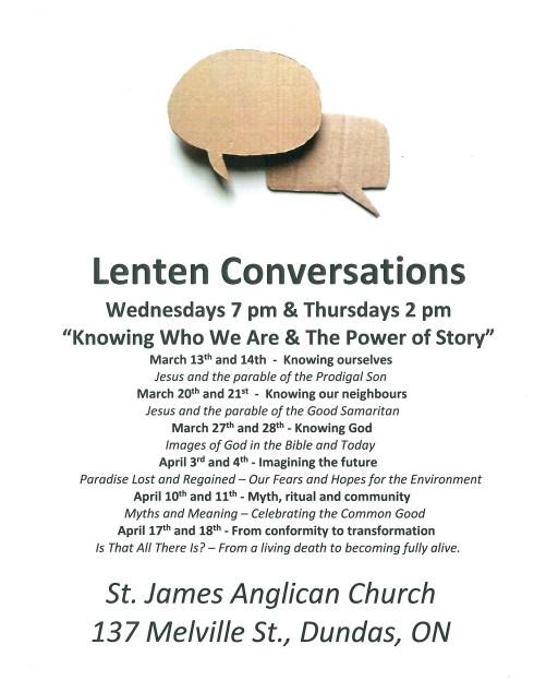 Lenten Study 2019