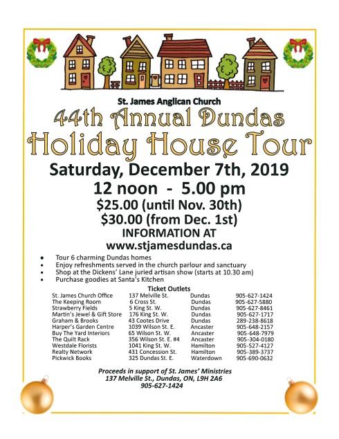 House Tour 2019 Poster